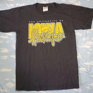 Vintage Iowa Hawkeyes T-Shirt Santee M